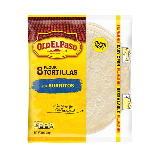 Picture of Flour Burritos Tortillas