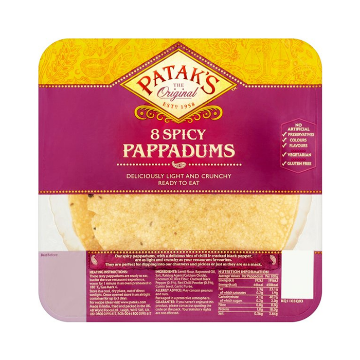 Picture of Spicy Pappadums