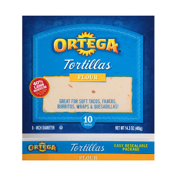 Picture of Healthy Flour Tortillas