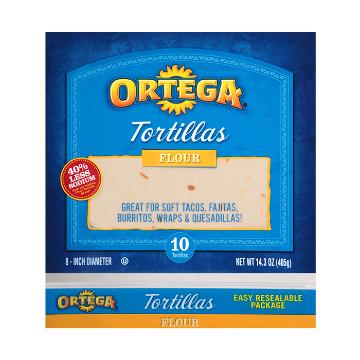 Picture of Healthy Flour Tortillas