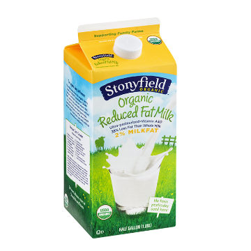 Picture of Organic Reduced Fat Milk