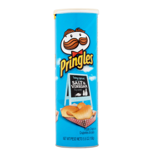 Picture of Pringles - Salt & Vinegar
