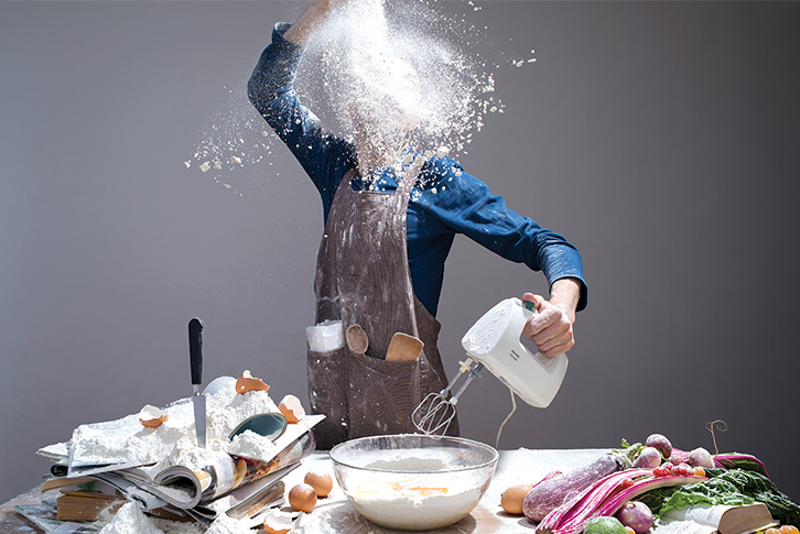 How not to make a mess while cooking